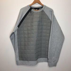 NWOT Nike Insulated Quilted Crewneck Sweatshirt